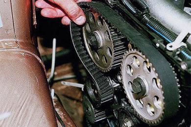 Замена ремня ГРМ Opel и Chevrolet